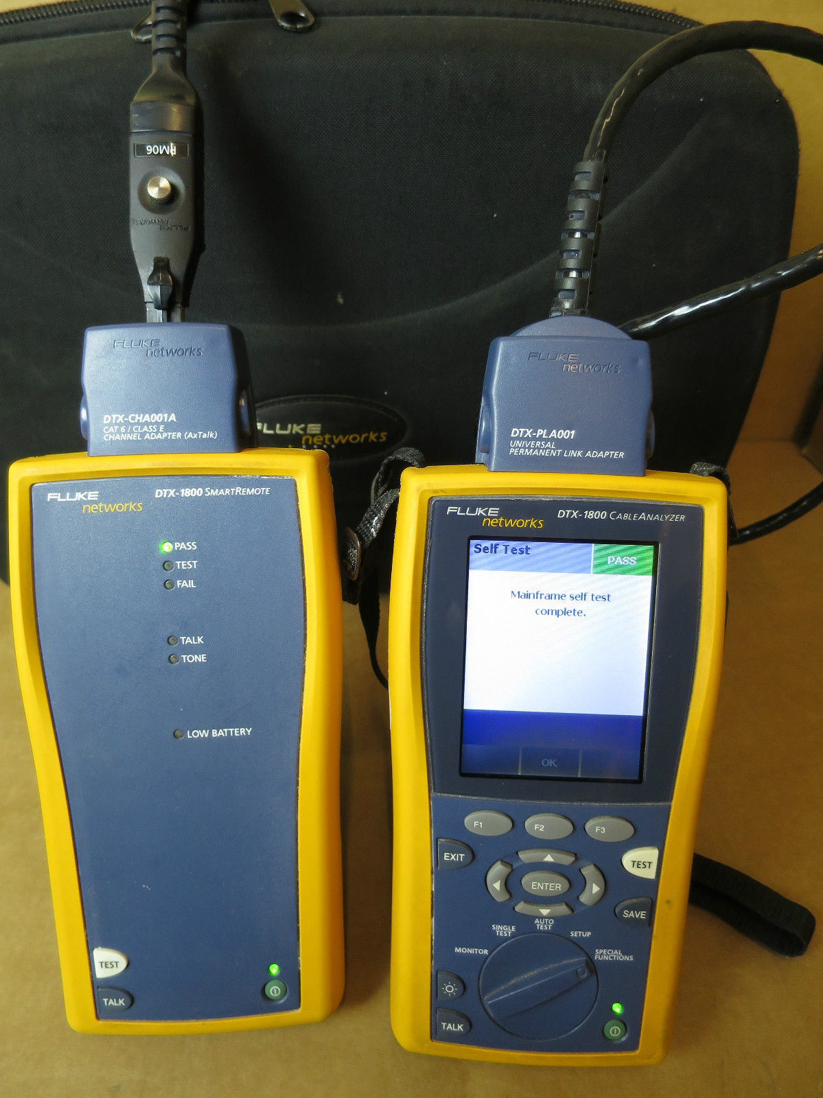Cat 5e Cable Testers : Fluke networks dtx cat e digital cable